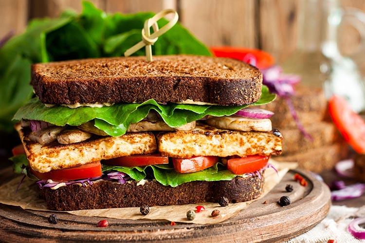 Sandwich de tofu