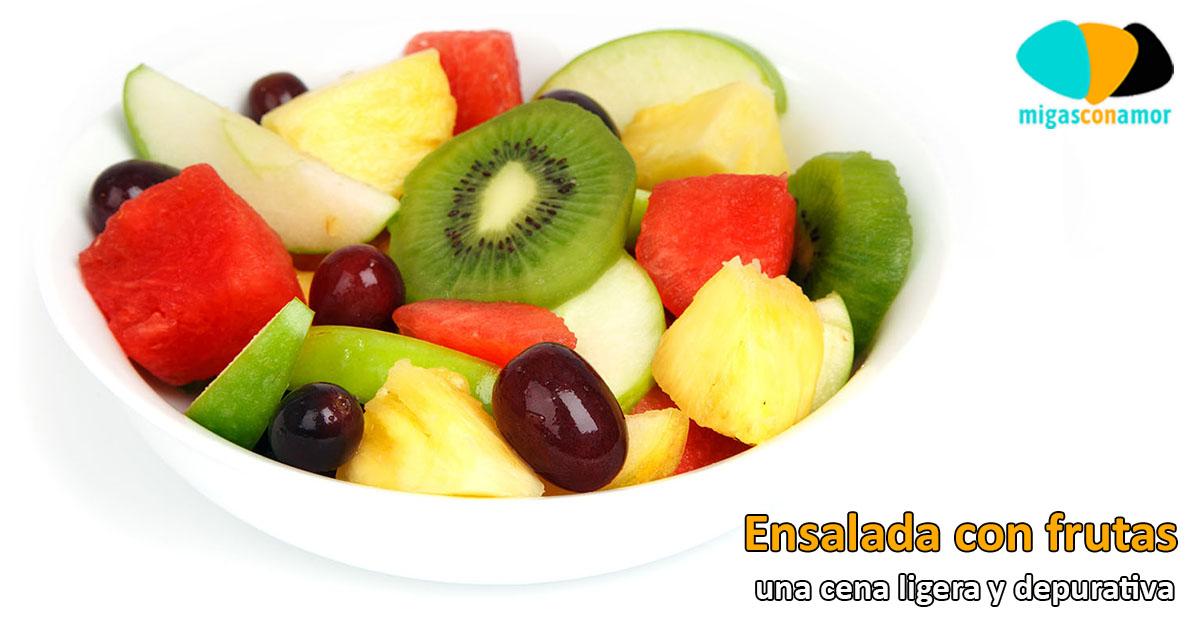Ensalada con frutas